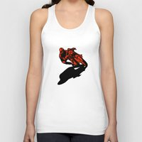motorcycle Tank Tops featuring Motorcycle by bike51design