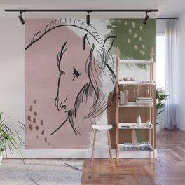 Abstract Equine ii Wall Mural