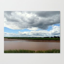 Storm Moving In Canvas Print