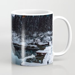 Zelenci springs at dusk Coffee Mug