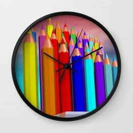 time to draw a picture -1- Wall Clock