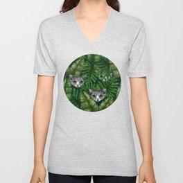 Jungle Kittens Unisex V-Neck