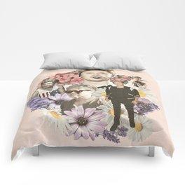 Niall Horan + Flowers Comforters