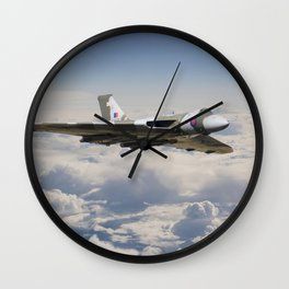 Vulcan - en route Wall Clock
