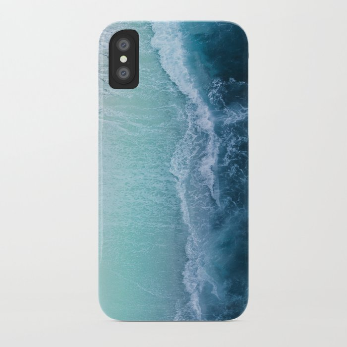 turquoise sea iphone case