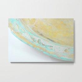 Seafoam III Metal Print