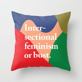Intersectional Throw Pillow