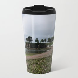 Torquay Corbyn Sands Beach Huts Travel Mug
