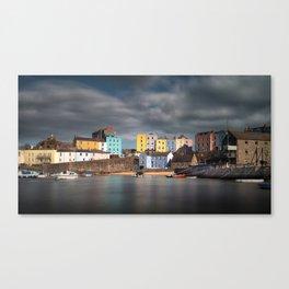 Tenby harbour Pembrokeshire Canvas Print