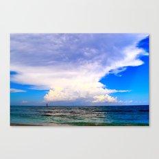Warm Weather Skies Canvas Print