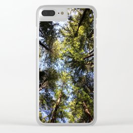 Redwood Canopy Clear iPhone Case