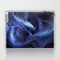 Blue Crystal Dragon Laptop & iPad Skin