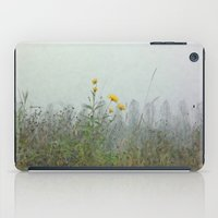 battlefield iPad Cases featuring Yellow Wild Flowers, Agincourt Battlefield by Susan in Paris