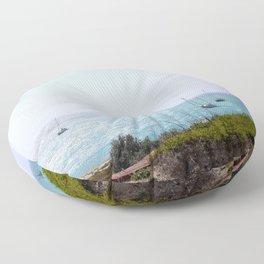 Sun Dance Cove Floor Pillow