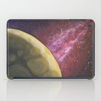 dark side of the moon iPad Cases featuring Dark Side of the Moon by Stephanie Janeczek