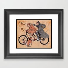 The Game is Afoot! Framed Art Print