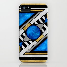 Boxball - Art Deco Design iPhone Case