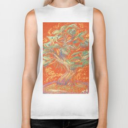 Bonsai Earthy Biker Tank