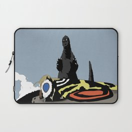 Mothra vs Godzilla Laptop Sleeve