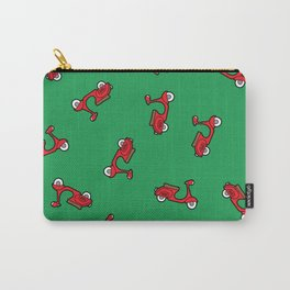 Red scooter pattern Carry-All Pouch