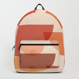 Mid Century Boobs Abstract Backpack
