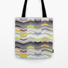 Modern Chevron - Fresh Green Tote Bag
