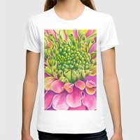 dahlia T-shirts featuring Dahlia by Susie Bell