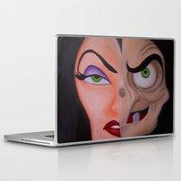evil queen Laptop & iPad Skins featuring Evil Queen by Jgarciat