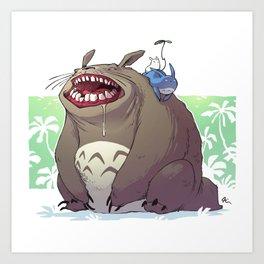 Totorooo Art Print