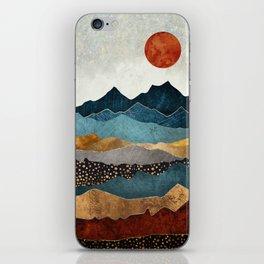Amber Dusk iPhone Skin