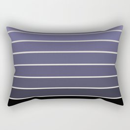 Gradient Arch - Purple Rectangular Pillow