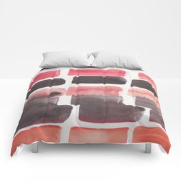 1 | 190321 Watercolour Abstract Painting Comforters