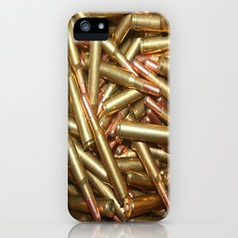 Bullets Ammo For Rifle Gun Shooting Sports or Hunting iPhone Case