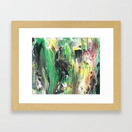 Living positive! Framed Art Print