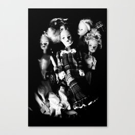 Thrift Shop Girls Canvas Print