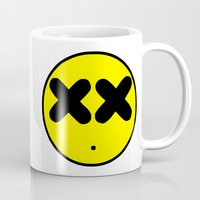 the xx Mugs featuring XX Smile by EnvyArt