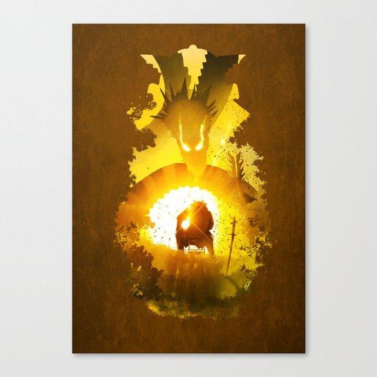 Dragon Emperor Canvas Print
