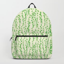 String of Pearls Pattern Backpack