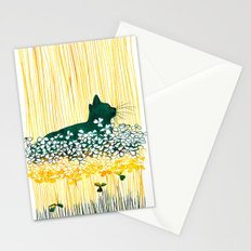 Clover Cat Stationery Cards
