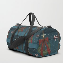 There's a Feeling of Christmas Duffle Bag