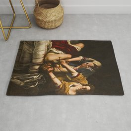 Artemisia Gentileschi's Judith Slaying Holofernes Rug