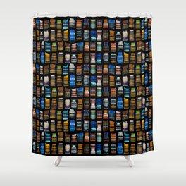 Multicolored artwork Shower Curtain