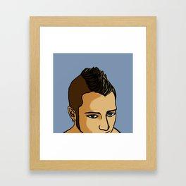 Mohawk Framed Art Print
