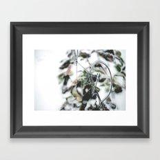 Winter. Framed Art Print