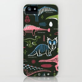 B-List Dinosaurs iPhone Case