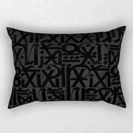 calligraphy Rectangular Pillow