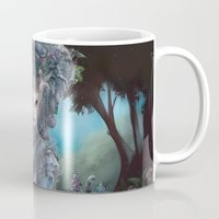 marie antoinette Mugs featuring Marie Antoinette by Christina Hess