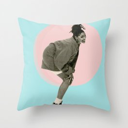 love for the sistah Throw Pillow