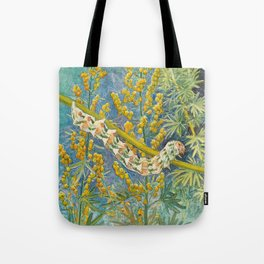 Cucullia Absinthii Caterpillar Tote Bag