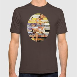 Glitch Pin-Up Redux: Isabella T-shirt